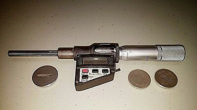 Starrett 762xfl-2 Electronic Micrometer Precision Metrology Id 460551 Tested