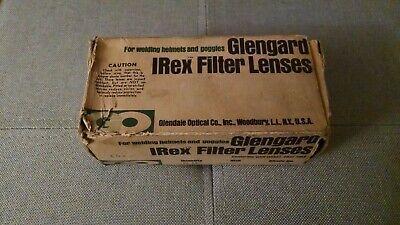 Vintage Box Of Welding Lenses 2 X 4.25