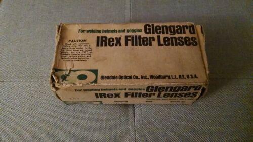 Vintage box of welding lenses 2