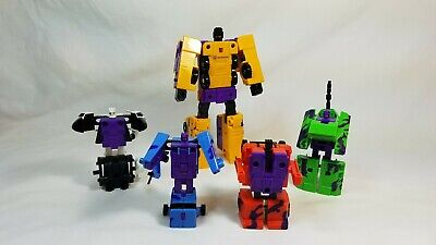 BRUTICUS Combaticons TRANSFORMERS Generation 2 incomplete.
