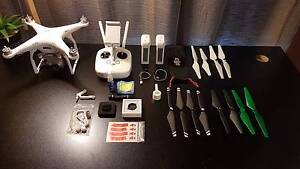 DJI Phantom 3 Advanced 2.7K Drone + Backpack + Accessories Greenwich Lane Cove Area Preview