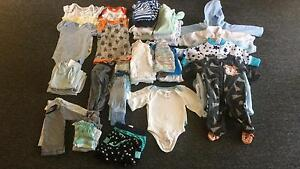 Baby boy clothes 50 items sizes 0000 & 000 Valentine Lake Macquarie Area Preview