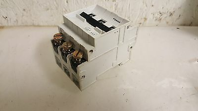 Siemens 16A Circuit Breaker, 5SN3, G16A, 3 Pole, 240/415V, USED, WARRANTY