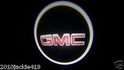 2 x LED Logo Light Ghost Shadow Projector Car Door Courtesy Laser for GMC