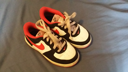 Nike air force 1 kids shoes.