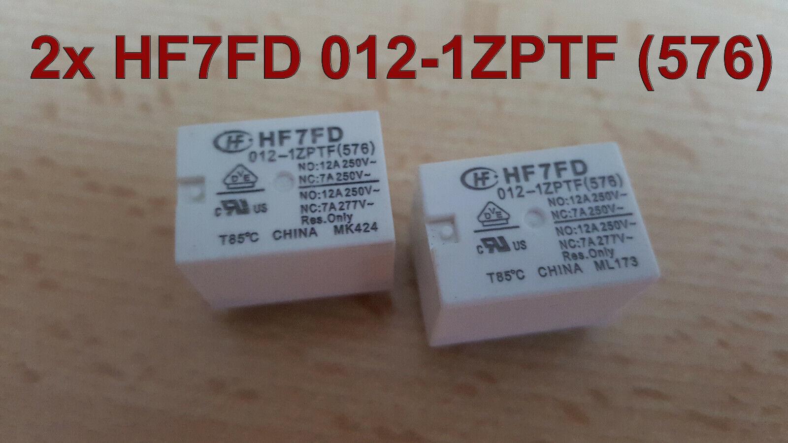 Hongfa hf3ff-012-1hst 1 Schließer 10A 100 Stück Relais 12V