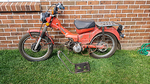 Wrecking CT110 1985 postie bike CT90 HONDA Rouse Hill The Hills District Preview
