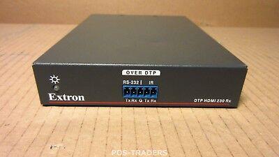 Extron DTP HDMI 4K 230 Rx HDMI Receiver 33-1720-01 RJ-45 - EXCL PSU & CABLES