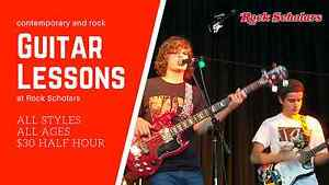 Guitar Lessons at Rock Scholars Osborne Park Stirling Area Preview