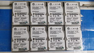 8x Hp 300GB 10K SAS + 10 caddies Epping Ryde Area Preview
