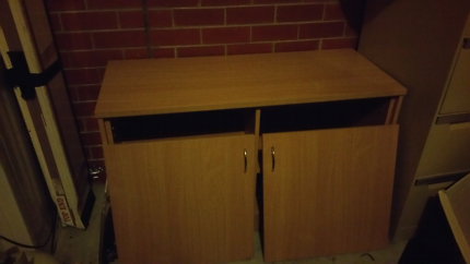 Office side board great condition very strong