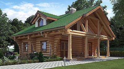 Blockhaus, Naturstammhaus, Holzhaus, Gartenhaus, Carport, Sauna, Grillcotta