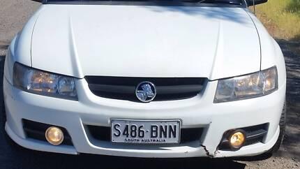 White Front Bumper For VZ Lumina, SS, SV6