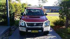 2007 Holden rodeo space cab Ute Ra 4x4 manual 3.0L Turbo Deisel Sanctuary Point Shoalhaven Area Preview