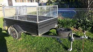 8x5 heavy duty caged box trailer Bomaderry Nowra-Bomaderry Preview