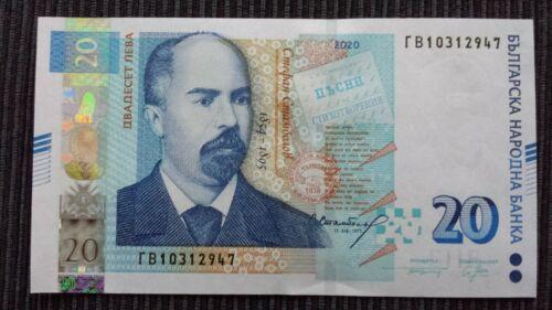 BULGARIA 20 Leva 2020 P New UNC Banknote