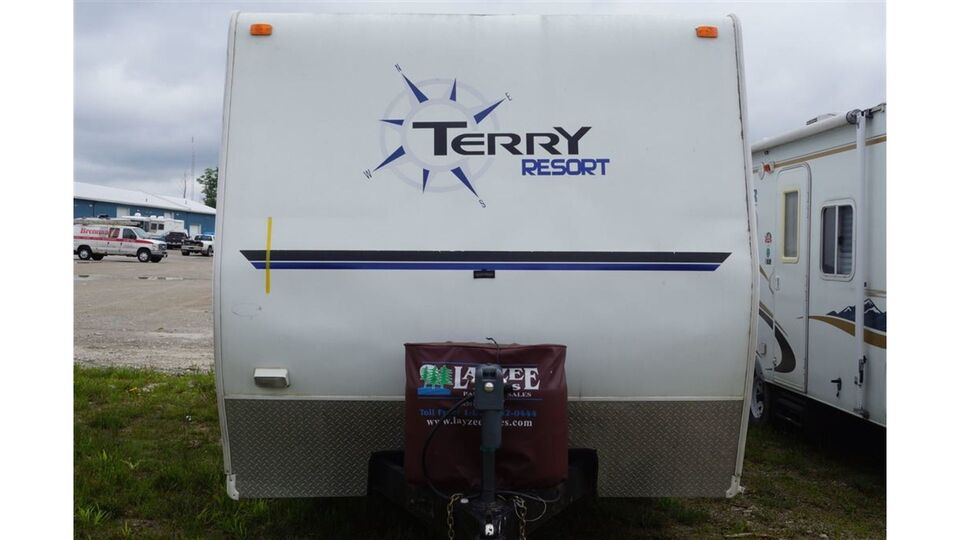 2005 Fleetwood Terry Resort 240 Rks Travel Trailers Campers