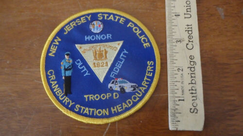 NEW JERSEY STATE POLICE CRANBURY STATION HEADQUARTERS TROOP D STATE TROOPER