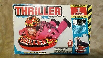 Thriller Hot Rod Snow Sledding Winter Tube SNow Sportsstuff Brand New Toy