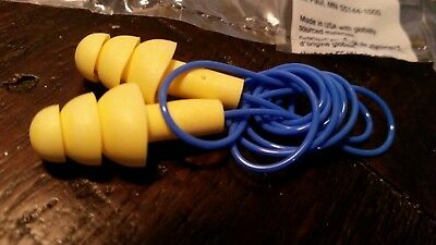 3m Ultrafit 340-4014 Reusable Corded Ear Plugs Hearing Protection Nrr 25db Ppe