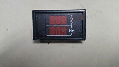 Dual Volt-frequency Meter 240-dhzvmt