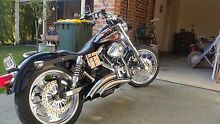 Custom Harley Davidson FXR WITH SCREAMING EAGLE 120R 2000cc Douglas Park Wollondilly Area Preview