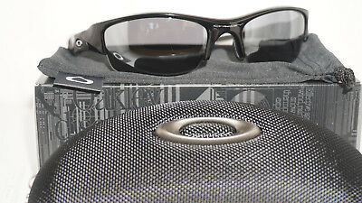 Oakley New Flak Jacket Sunglasses Jet Black Black Iridium 03-881