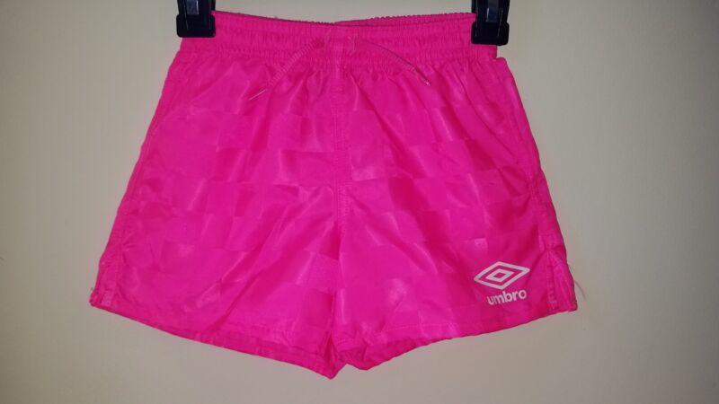 Umbro Soccer Shorts Pink Size M (10-12)