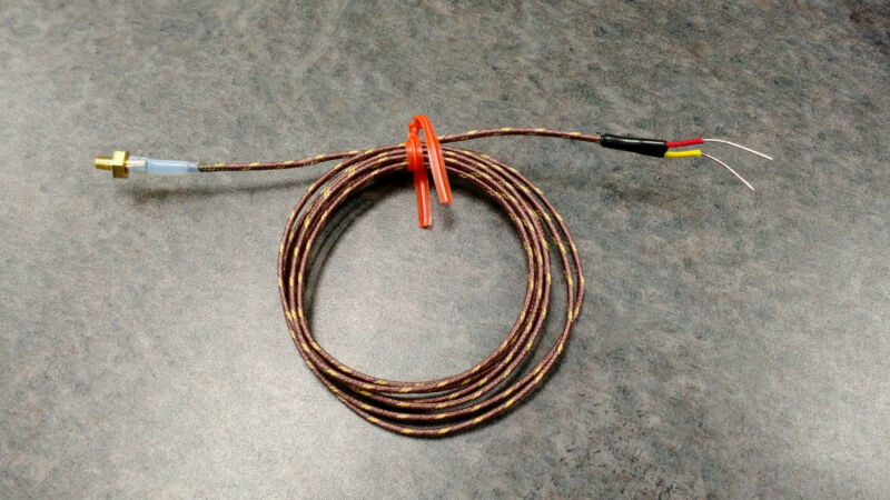 Makerbot Replicator 2 / 2X Thermocouple TC Type K SOLID WIRE *USA MADE*