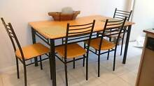 Great wooden dinning table with chairs Hornsby Hornsby Area Preview
