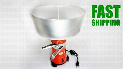 New Milk Cream Electric Centrifugal Separator Machine Metal 100lh Worldwide
