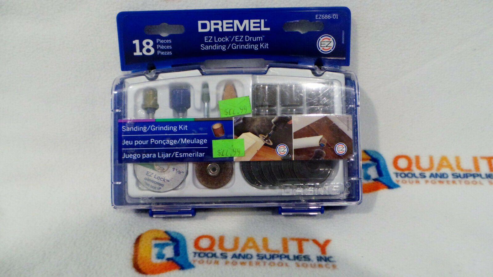 Dremel EZ686-01 EZ Lock Sanding and Grinding Kit