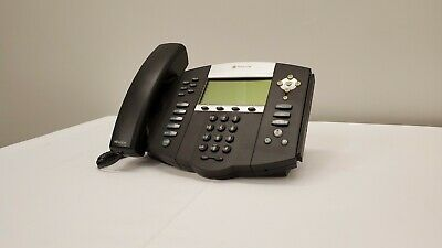 Polycom Soundpoint Ip 650 2201-12630-001 Poe Voip Phone