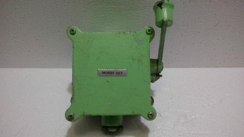 """ Senpako "" Shoji Co, Ltd. Maritime Marine Vintage Ship  Morse Key Telegraph Key"