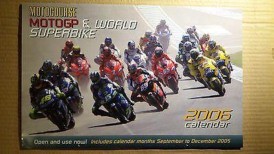 MOTOCOURSE 2006 CALENDAR ROSSI BIAGGI GIBERNAU EDWARDS CHECA CORSER McCOY MOTOGP