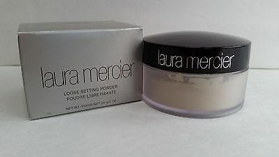 Laura Mercier No.1 Loose Setting Face Powder Translucent 1oz NIB