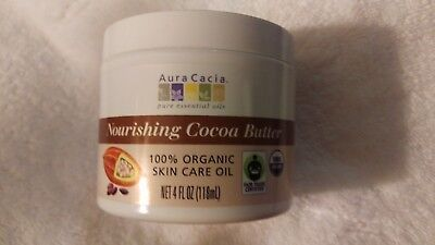 Aura Cacia Nourishing Cocoa Butter  4 fl oz  (118 mL)