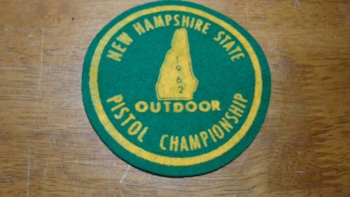 NEW HAMPSHIRE STATE OUT DOOR PISTOL CHAMPIONSHIP  bx 12 #1