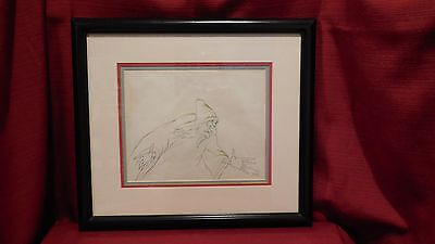 """Disney 1937 """"The Witch"""" From Snow White Original Production Drawing 32 A"""