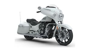 2018 Indian Motorcycles Chieftain Limited White Smoke