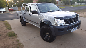2005 holden ra rodeo 4x4 turbo diesel with RWC and 2018 reg Golden Square Bendigo City Preview