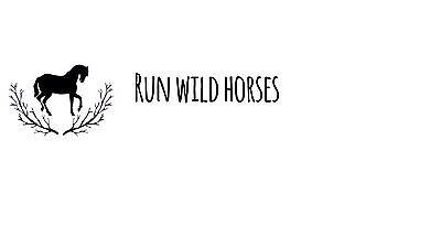 Run Wild Horses Shop