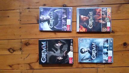 Grimm seasons 1-5 on dvd