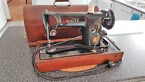 Singer Sewing machine 1934, 201K  EJ672846, portable, motor Silverdale Wollondilly Area Preview
