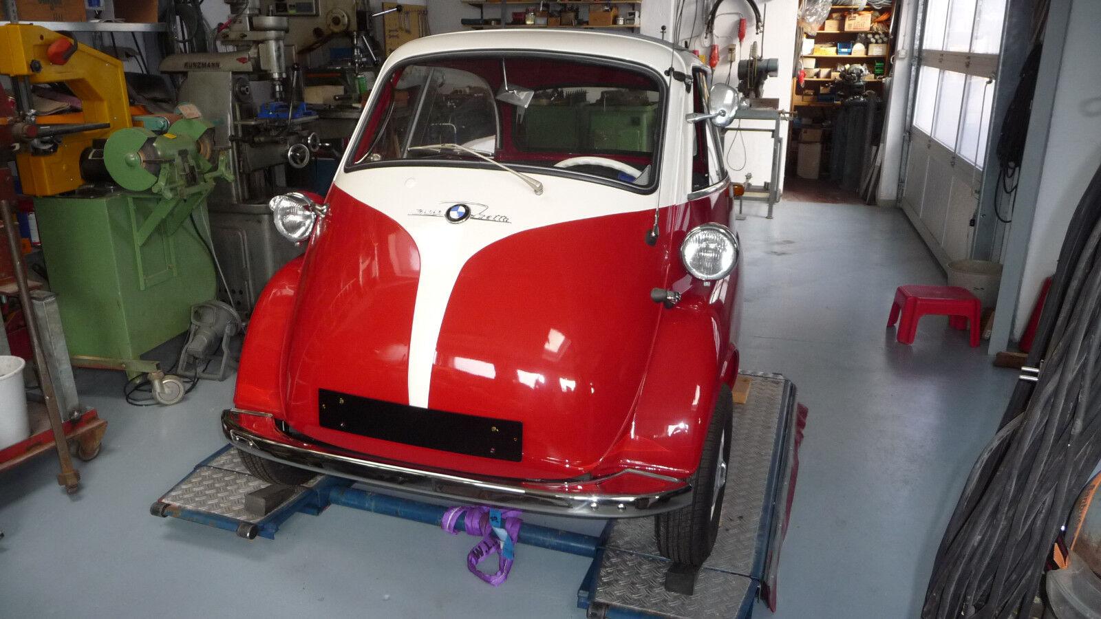 Isetta 300, 4-Rad, Bestzustand, kompl. restauriert. Fahrbereit. Oldtimer.