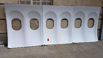 Original Flugzeugfenster | Window Panel Innenverkleidung Bilderrahmen Raumteiler
