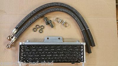 6 Row Oil Cooler Rad Radiator SUZUKI YAMAHA KAWASAKI 50cc - 1100cc