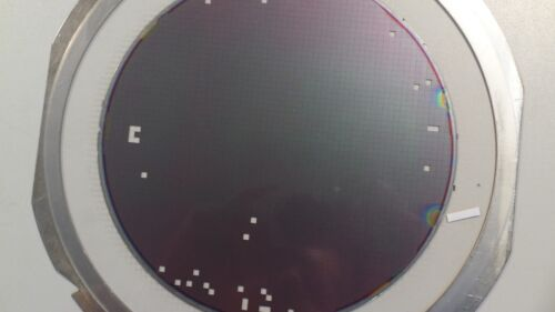 8 inch Silicon Wafer Test Mask Artistic Pattern #16
