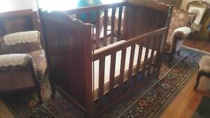 Baby Cot solid timber