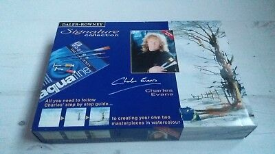Daler-Rowney Signature Collection Watercolour Art Set Brand New